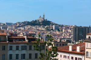 Foto der Basilika Notre Dame de la Garde in Marseille