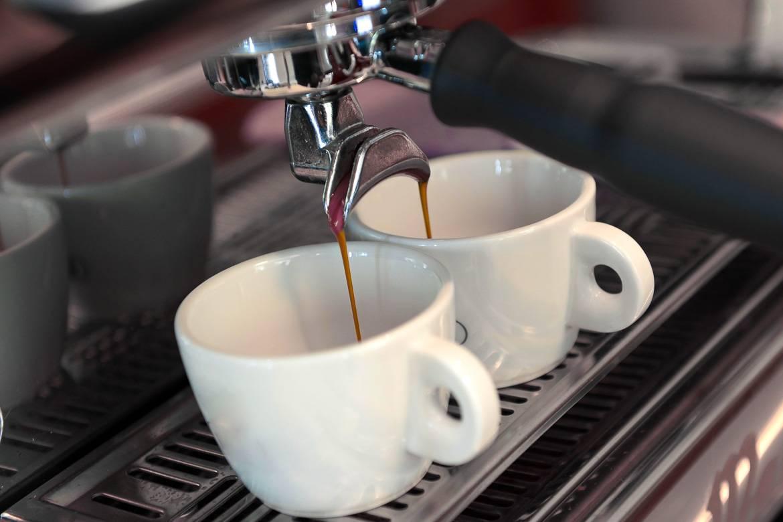 Bild von Kaffee, der in Paris gekocht wird
