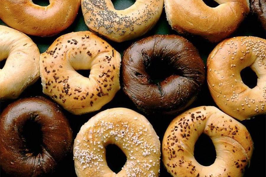 Bild von einer Auswahl von Bagels