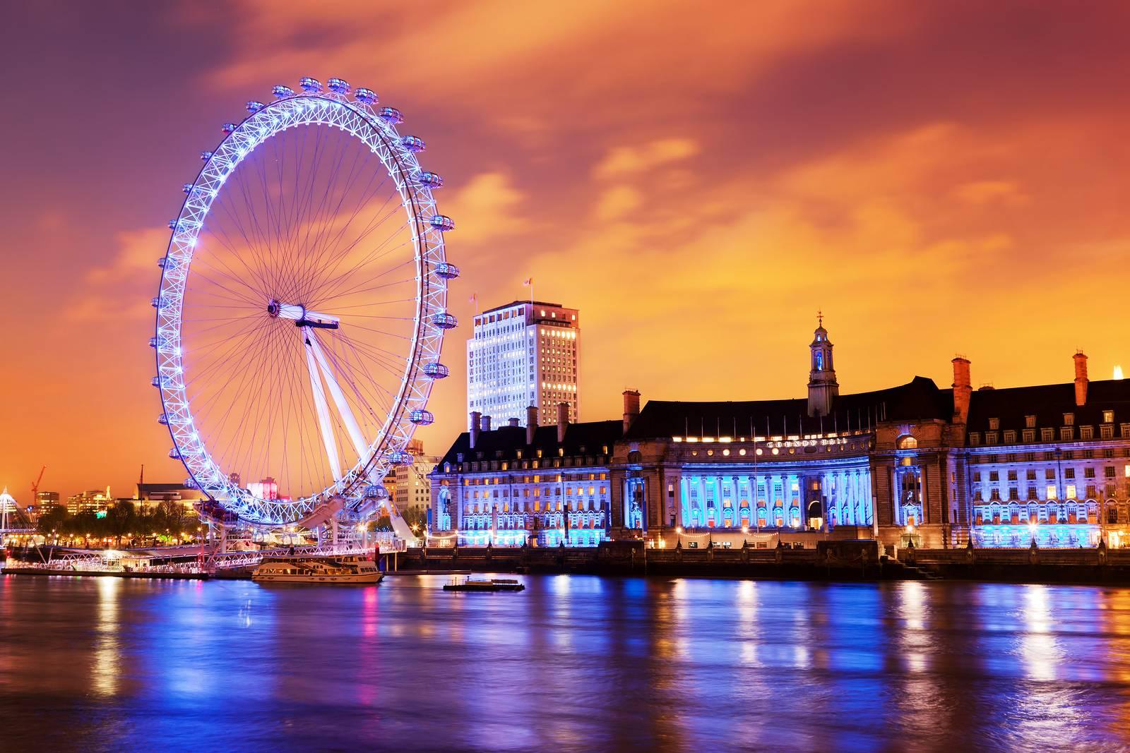 Bild des London Eyes