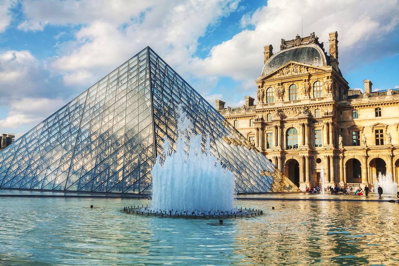 Bild vom Louvre