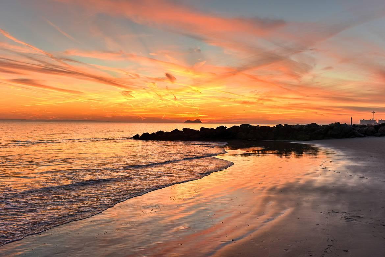 Bild vom Coney Island Beach.