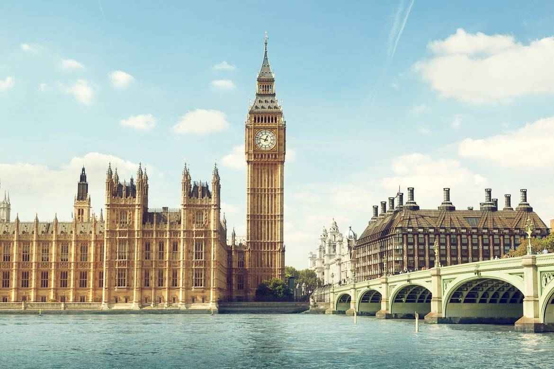 Bild der Londoner Skyline