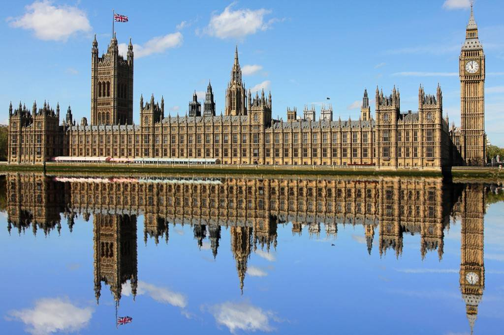 Bild vom Big Ben und dem Parlament