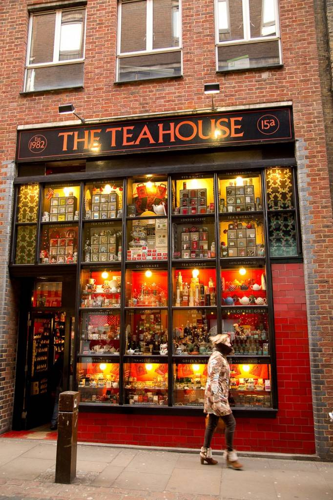 Bild des Eingangs zum Teahouse Theatre in London