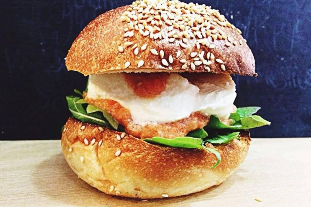 Bild eines Hamburgers