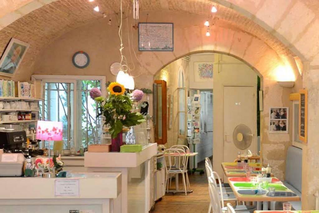 Bild vom Innenraum eines Restaurants