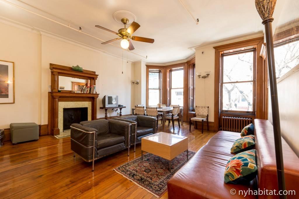 Wohnungen f r familienurlaube in new york new york for Wohnzimmer 19 jahrhundert
