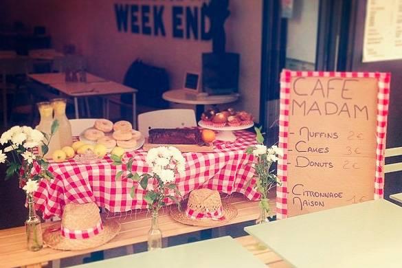 Bild des Restaurants Café Madam im 2. Arrondissement