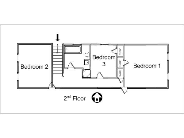 New York Bed And Breakfast 4 Bedroom Duplex Apartment
