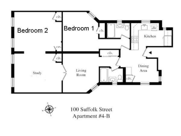 floor plans for apartments in new york images