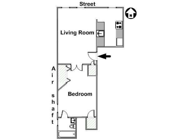 One Bedroom Nyc Apartment With A New Born Baby: New York Apartment: 1 Bedroom Apartment Rental In Upper