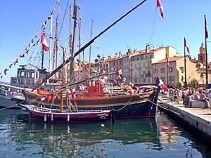 Photo du port de Saint Tropez
