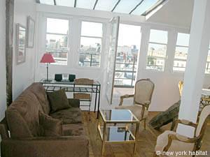 Location de vacances à Paris. Photo d'un appartement T1 à Saint Germain des Prés (PA-2473)