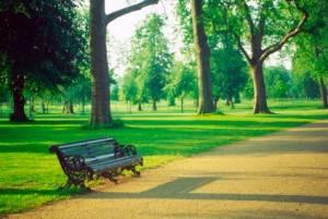 Rien de plus relaxant qu'une ballade dans un parc de Londres
