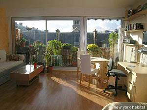 Location de vacances à Paris. Photo d'un appartement T1 à Père Lachaise, Nation (PA-2217)