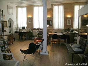 Location de vacances à Paris. Photo d'un appartement T2 dans le Marais, Les Halles (PA-1945)