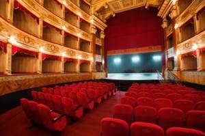 Intérieur d'un théâtre