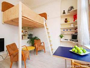 Location de vacances à Londres. Photo d'un appartement T1 à Bloomsbury, Westminster (LN-507)