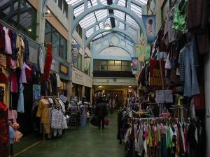 Photo : « Arcade Market » à Brixton, Londres