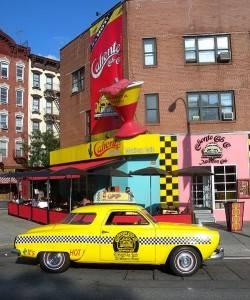 Vieux taxi New-Yorkais. Photo de Jim  Henderson