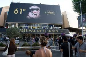 Photo au Festival de Cannes dans le Sud de la France