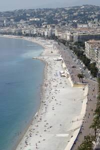 Photo : Promenade des Anglais, Nice, Côte d'Azur