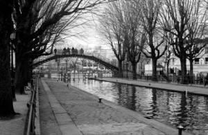 Photo : Canal Saint-Martin, Paris