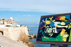 Photo : Picasso à Antibes, France