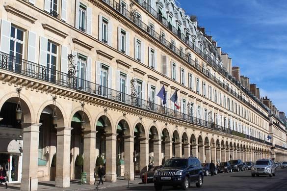 Photo de la rue de Rivoli à Paris