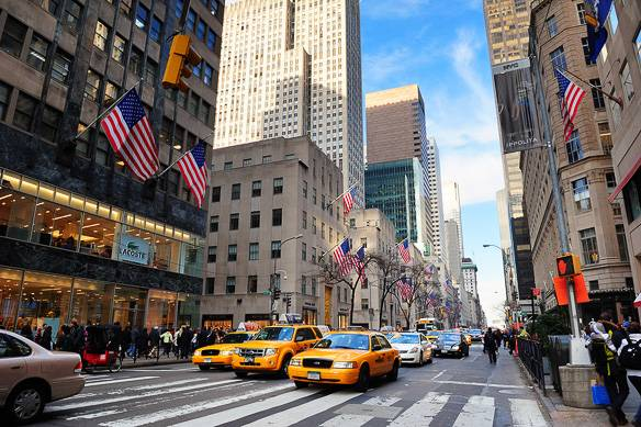 Photo of shopping in New York