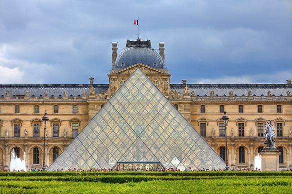 Photo du musée du Louvre à Paris