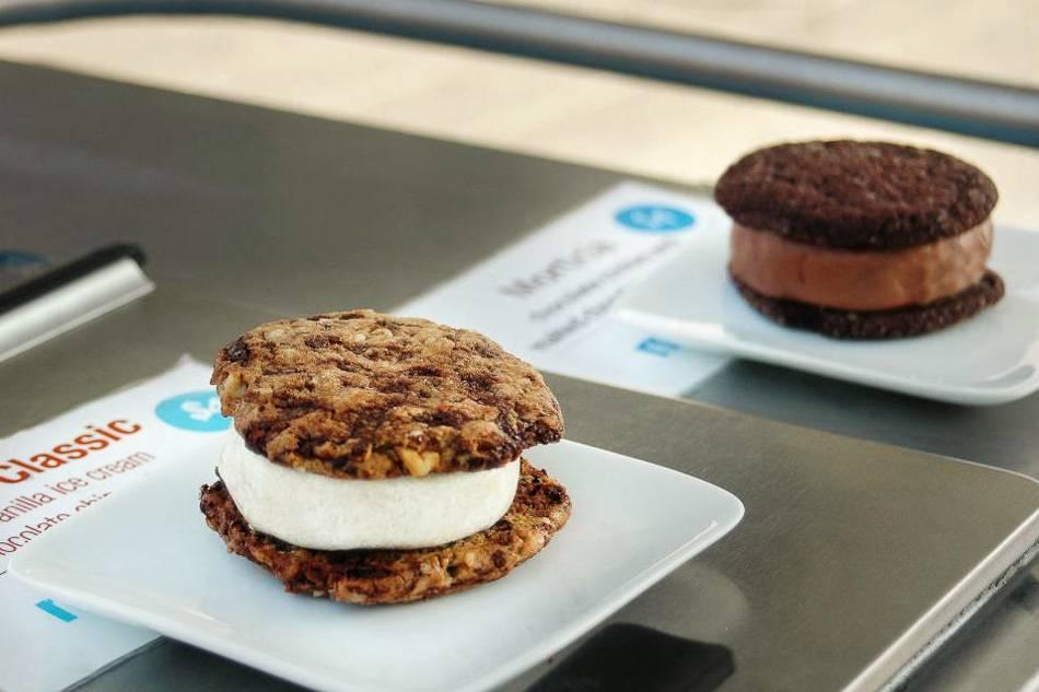 Photo des creamwiches de Melt Bakery
