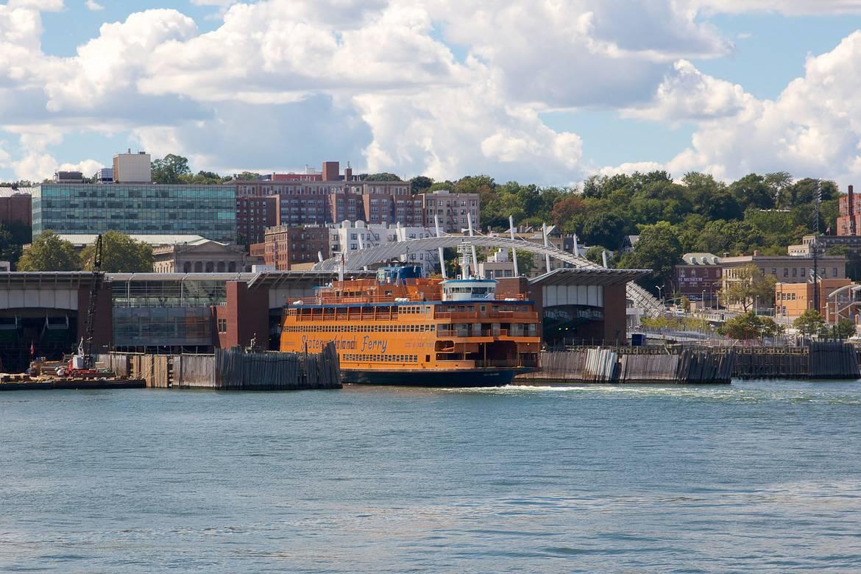 Photo du ferry de Staten Island