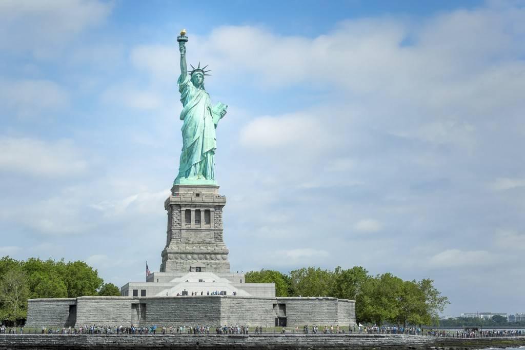 Vue d'ensemble de la Statue de la Liberté