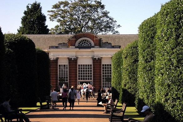 Photo du restaurant The Orangery à Hyde Park