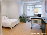 New York Studio T1 - Loft logement location appartement - Appartement référence NY-11732