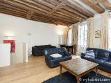 Paris 1 Bedroom - Duplex accommodation - Apartment reference PA-1310