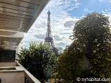Paris 1 Bedroom accommodation - Apartment reference PA-2352