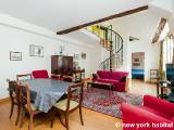 Paris 1 Bedroom - Duplex accommodation - Apartment reference PA-3236
