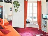 Paris Studio accommodation - Apartment reference PA-3926