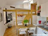 Paris Studio accommodation - Apartment reference PA-4287