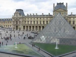 Fotografia del Louvre a Parigi