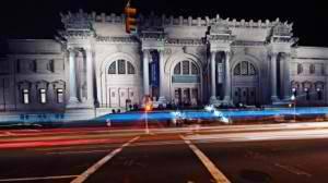 La facciata del Met a New York