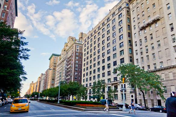 Foto dell'Upper East Side di Manhattan e Park Avenue. Foto :Asim Bharwani