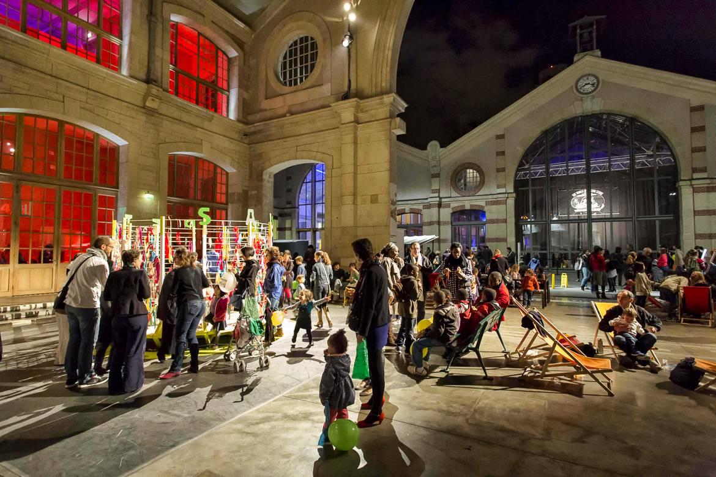 Immagine della Nuit Blanche. Foto di Marc Verhille.