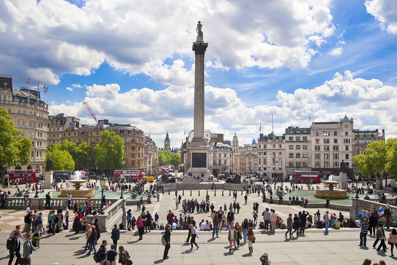 Illuminazione Natale Londra : Bloomsbury Square London