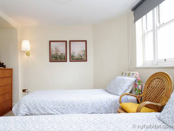 Londres T3 appartement location vacances - chambre 2 (LN-79) photo 2 sur 2
