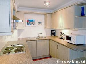 London 1 Bedroom accommodation - kitchen (LN-118) photo 1 of 1