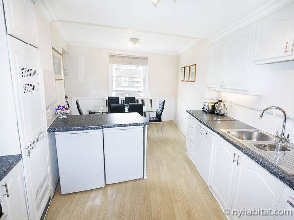 Londres T4 appartement location vacances - cuisine (LN-300) photo 1 sur 3